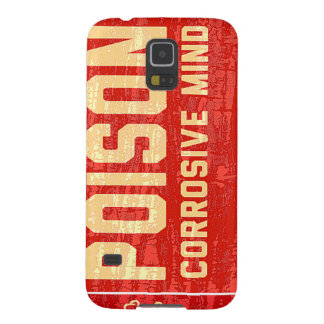 Alerta of poison corrosive Mind Galaxy S5 Cover