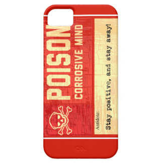 Alerta of poison corrosive Mind iPhone SE/5/5s Case