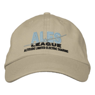 ALES League Embroidered Adjustable Hat Embroidered Hats
