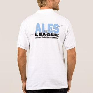 ALES League Printed Polo