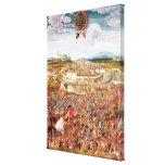 Alesia Besieged by Julius Caesar Gallery Wrap Canvas