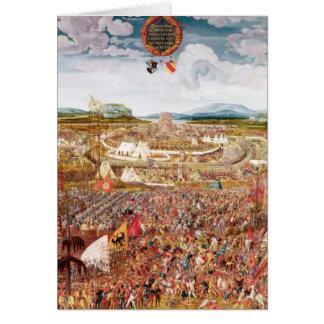 Alesia Besieged by Julius Caesar Card