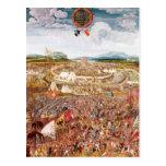 Alesia Besieged by Julius Caesar Post Cards