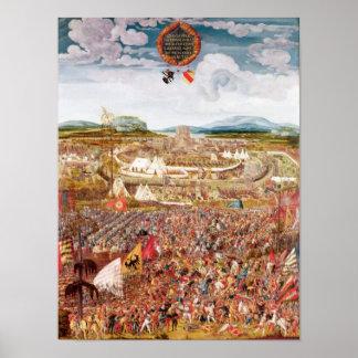 Alesia sitió por Julio César Póster