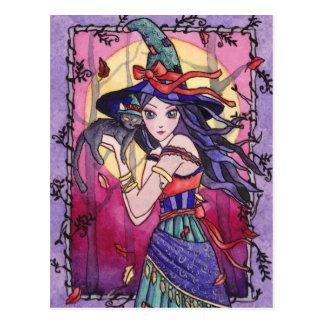 Alessa - Gypsy Witch Postcard
