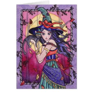 Alessa - tarjeta gitana de la bruja