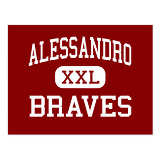 Alessandro - Braves - Middle - Moreno Valley Postcards
