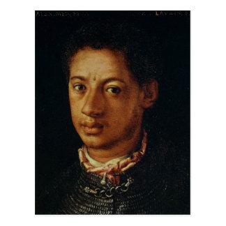 Alessandro de Medici por Agnolo Bronzino Postal