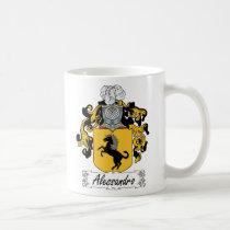 Alessandro Family Crest Mug
