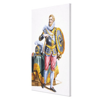 Alessandro Farnese (1546-92) Duke of Parma from 'R Canvas Print