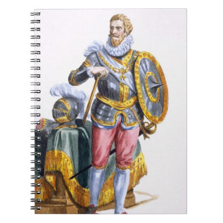 Alessandro Farnese (1546-92) Duke of Parma from 'R Notebook