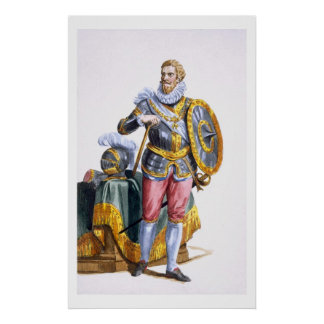 Alessandro Farnese (1546-92) Duke of Parma from 'R Poster