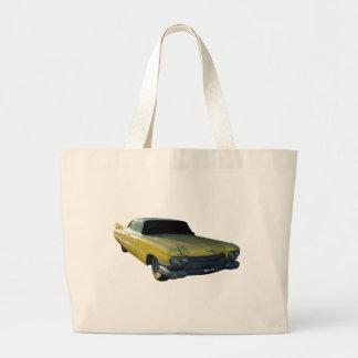 Aleta amarilla grande 59 Cadillac Bolsa