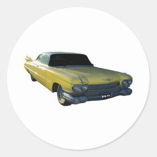 Aleta amarilla grande 59 Cadillac