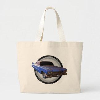 Aleta azul grande Cadillac 1959 Bolsas