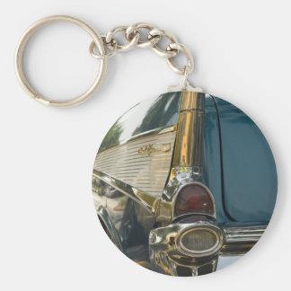 Aleta de cola del Bel Air de Chevy Llaveros Personalizados