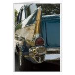 Aleta de cola del Bel Air de Chevy Tarjeton