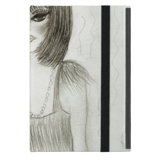 Aleta de la chica marchosa iPad mini carcasas