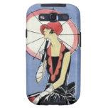 aleta de los años 20 con el paraguas galaxy s3 cobertura
