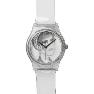 Aleta de lujo relojes de pulsera