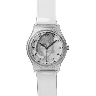Aleta de ruborización reloj de mano