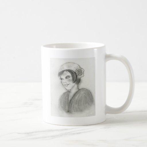 Aleta descarada taza de café