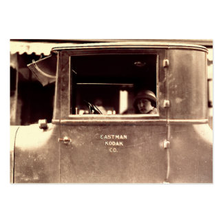 Aleta en años 20 de la lata de un rugido de Lizzie Tarjeta De Visita