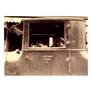 Aleta en años 20 de la lata de un rugido de Lizzie Tarjetas De Visita Grandes