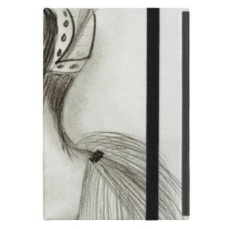Aleta en plumas iPad mini cárcasas