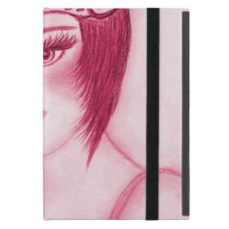 Aleta fabulosa en rojo iPad mini funda