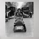 Aleta que conduce el pedal Car, 1924