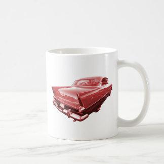 Aletas 1956 de cola de Plymouth de la furia de la Taza De Café