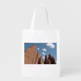 Aletas de la piedra arenisca bolsas de la compra