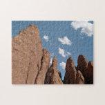 Aletas de la piedra arenisca puzzle