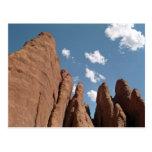 Aletas de la piedra arenisca tarjeta postal