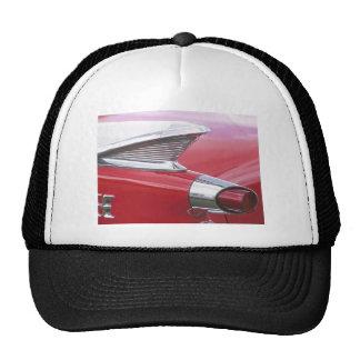Aletas del vintage y foto clásica del coche del cr gorras