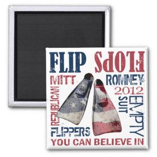 Aletas para el imán de Romney