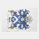 Aleth Family Crest Hand Towels