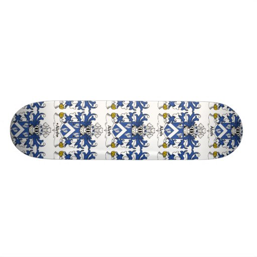 Aleth Family Crest Skate Boards