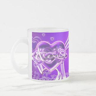 Aletha Frosted Glass Coffee Mug