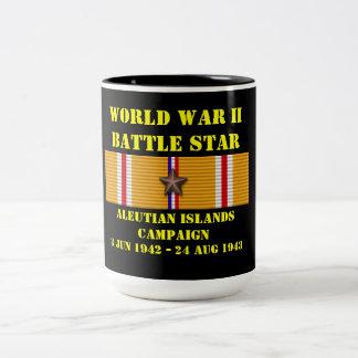 Aleutian Islands Campaign Two-Tone Coffee Mug
