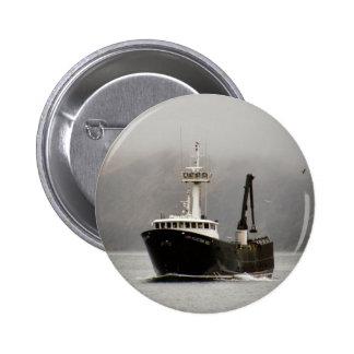 Aleutian No. 1, Crab Boat in Dutch Harbor, Alaska Pin