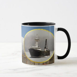 Aleutian No. 1, Crab Boat in Dutch Harbor, Alaska Mug