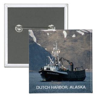 Aleutian Spray, Crab Boat in Dutch Harbor, AK Pins
