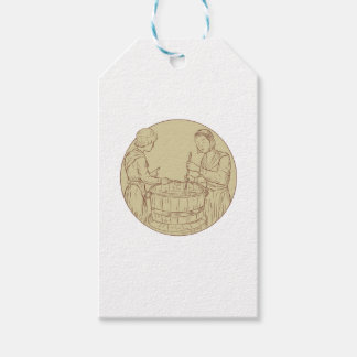 Alewife Brewing Beer Drawing Gift Tags