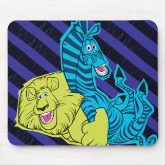 Alex and Marty Buddies Mouse Pad