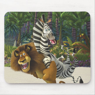 Alex and Marty Playful Mouse Pad