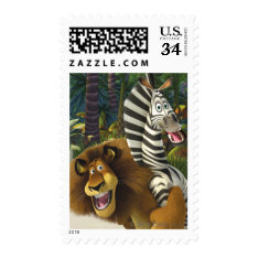 Alex And Marty Playful Postage at Zazzle