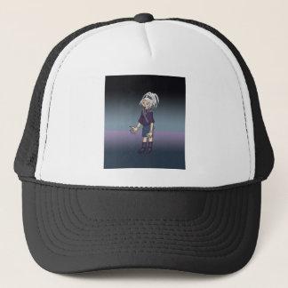 Alex Anime Art Gallery Character Trucker Hat