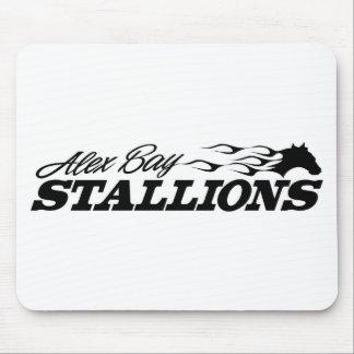 Alex Bay Stallions Logo Mouse Pad